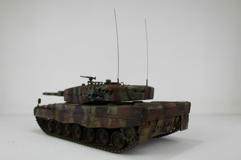 Completed Model Tank