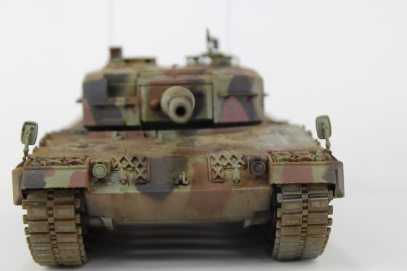 Front Of The Leopard 2 Scale Model Tank