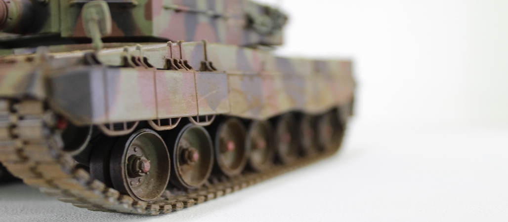 Leopard 2 MBT 135th Model By Lee Step By Step Full Build