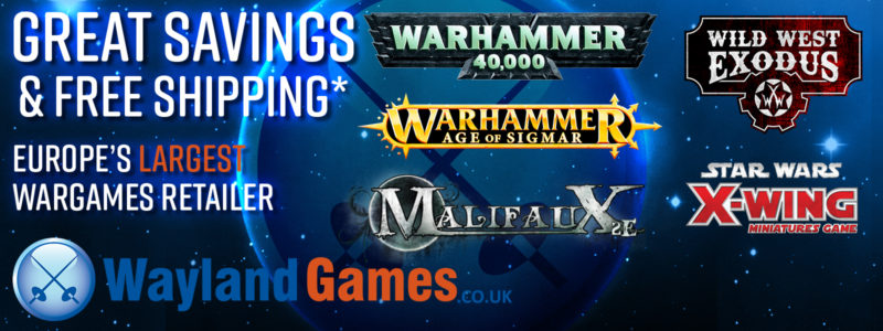 wayland games heavily discounted wargames and paints