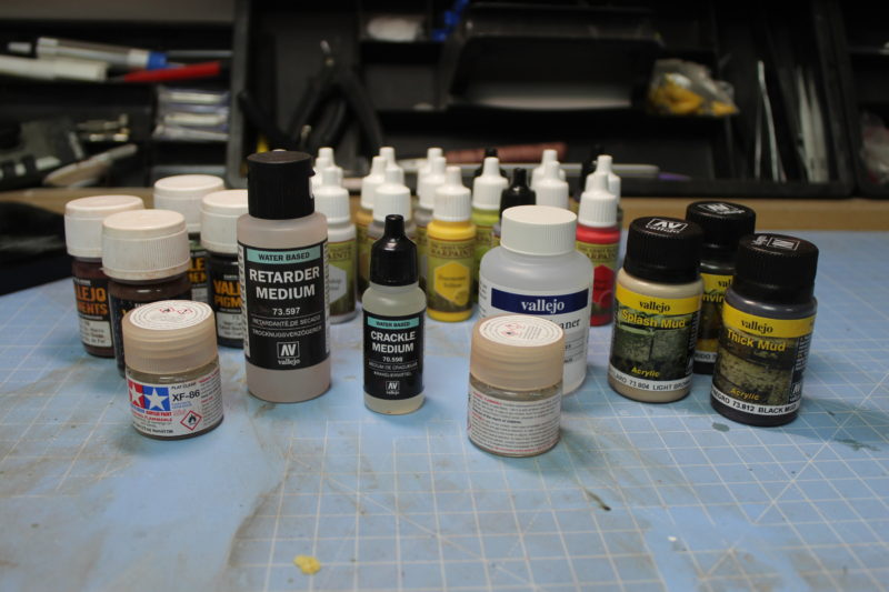 New Scale Model Hobby Paints And Supplies