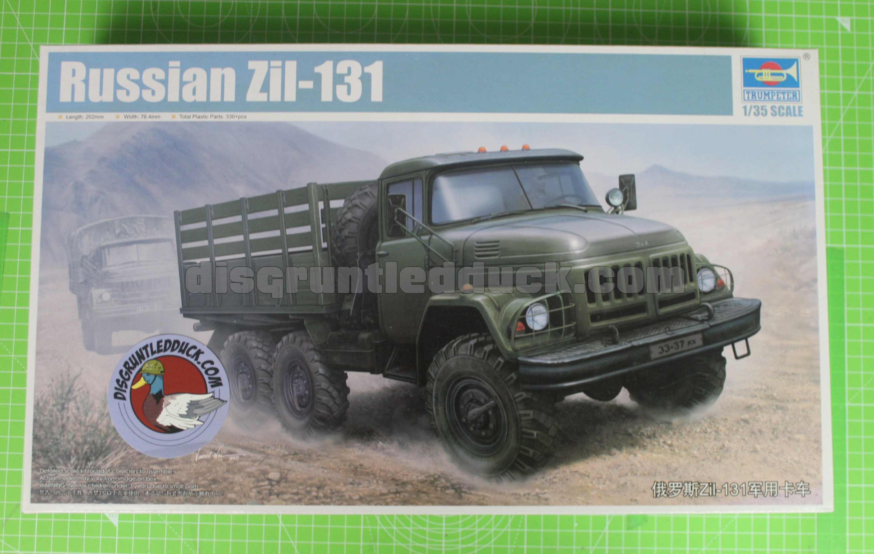 Trumpeter 1/35th Russian Zil-131 Unboxing And Review Video